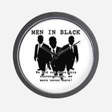 Men In Black 3 Wall Clock