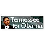 Tennessee for Obama bumper sticker