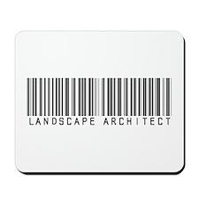 Landscape Architect Barcode Mousepad