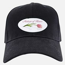 Pink Tulip Matron of Honor Baseball Hat