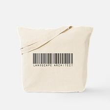 Landscape Architect Barcode Tote Bag