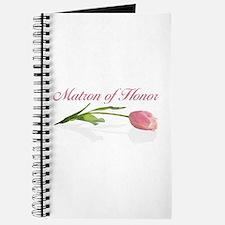 Pink Tulip Matron of Honor Journal