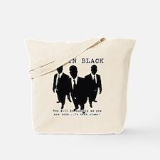 Men In Black 5 Tote Bag