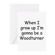 woodturner Greeting Cards (Pk of 10)
