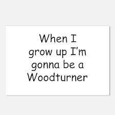 woodturner Postcards (Package of 8)