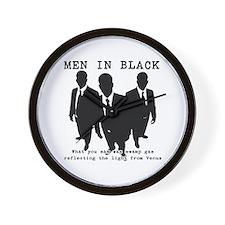Men In Black 6 Wall Clock