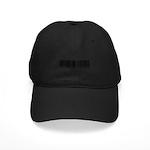 Law Enforcement Ofcr Barcode Black Cap