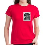 Ancient Shortface Pigeon Women's Dark T-Shirt