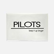 Pilot Joke Rectangle Magnet