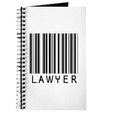 Lawyer Barcode Journal