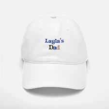 Layla's Dad Baseball Baseball Cap
