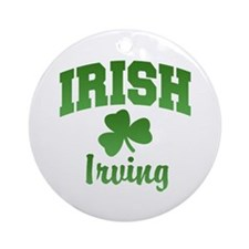 Irving Irish Ornament (Round)