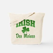 Des Moines Irish Tote Bag