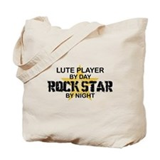 Lute Player Rock Star Tote Bag