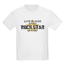 Lute Player Rock Star T-Shirt