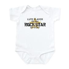 Lute Player Rock Star Infant Bodysuit