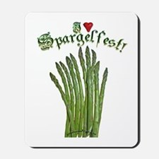 I Heart Spargelfest! Mousepad
