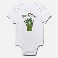 I Heart Spargelfest! Infant Bodysuit