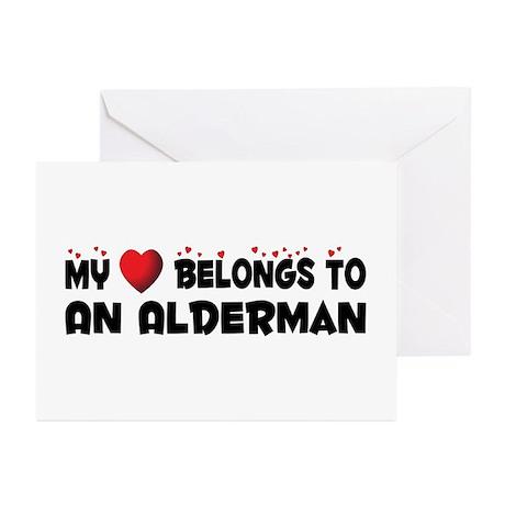 Belongs To An Alderman Greeting Cards (Pk of 20)