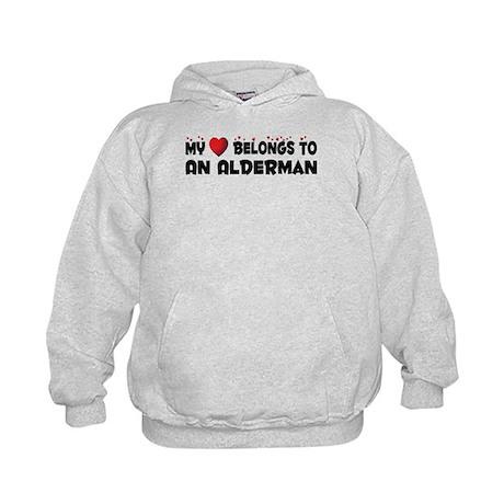 Belongs To An Alderman Kids Hoodie