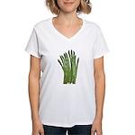 Fresh Asparagus Fan Women's V-Neck T-Shirt