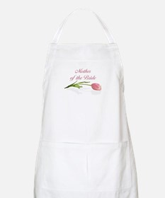 Pink Tulip Mother of Bride BBQ Apron