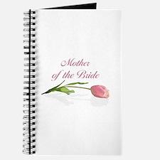 Pink Tulip Mother of Bride Journal