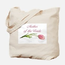 Pink Tulip Mother of Bride Tote Bag