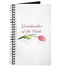 Pink Tulip Grandmother of Bride Journal