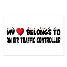 Belongs To An Air Traffic Controller Postcards (Pa