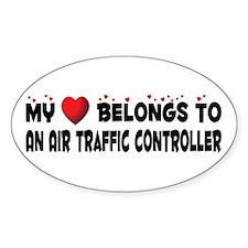 Belongs To An Air Traffic Controller Decal