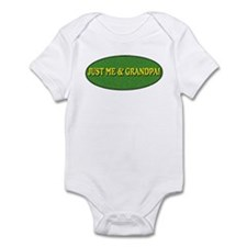 Just me and Grandpa! Infant Bodysuit