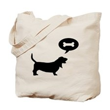 Basset Hound Treat Tote Bag