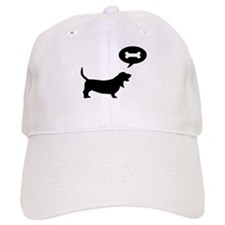 Basset Hound Treat Baseball Cap