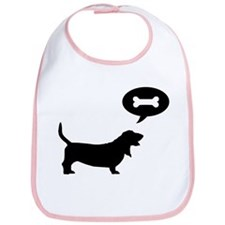 Basset Hound Treat Bib