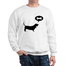 Basset Hound Treat Sweatshirt