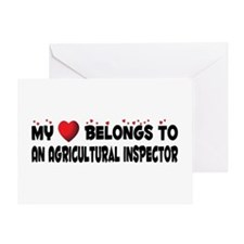 Belongs To An Agricultural Inspector Greeting Card