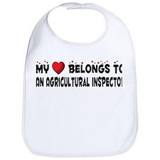 Belongs To An Agricultural Inspector Bib