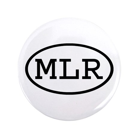 """MLR Oval 3.5"""" Button (100 pack)"""