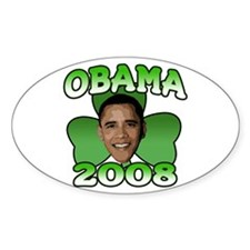 Obama 2008 Oval Decal