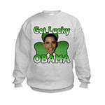 Get Lucky Obama Kids Sweatshirt