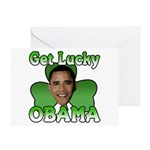 Get Lucky Obama Greeting Card