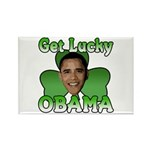 Get Lucky Obama Rectangle Magnet (10 pack)