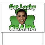 Get Lucky Obama Yard Sign