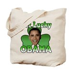 Get Lucky Obama Tote Bag