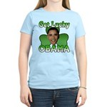 Get Lucky Obama Women's Light T-Shirt