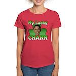 Obama My Lucky Charm Women's Dark T-Shirt