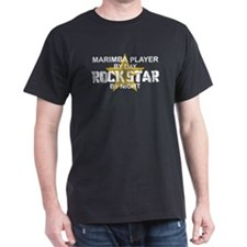 Marimba Player Rock Star T-Shirt