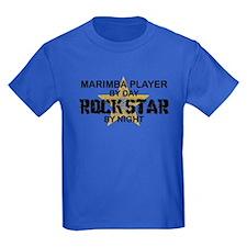Marimba Player Rock Star T