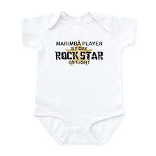 Marimba Player Rock Star Infant Bodysuit
